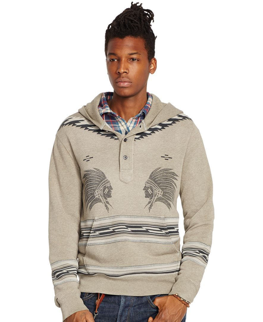 Denim & Supply Ralph Lauren Cotton Terry Graphic Hoodie