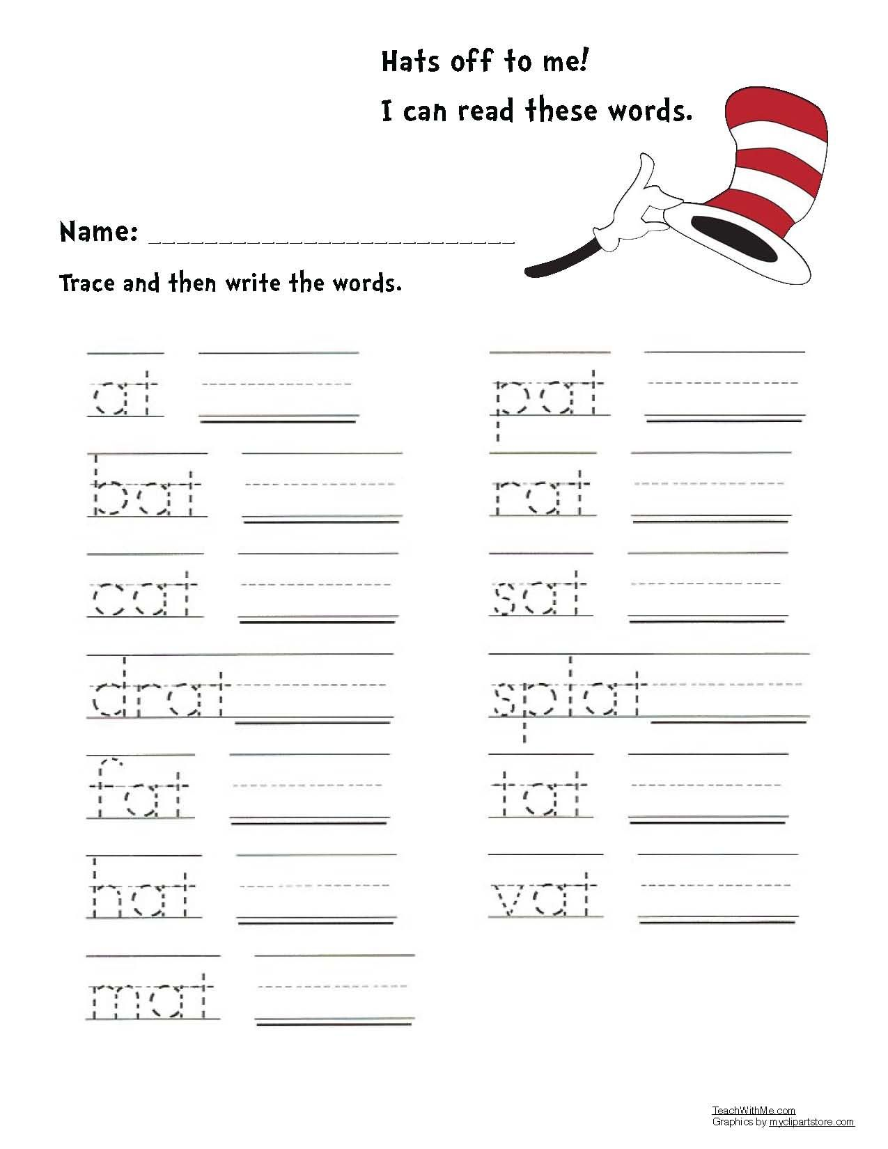 Activities And Games For Seuss S Cat In The Hat