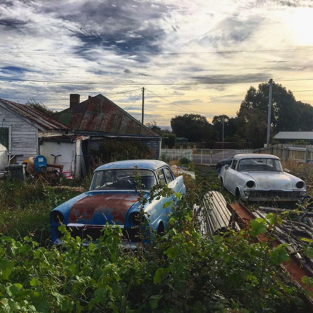 Abandoned Houses, Junkyard, Yard