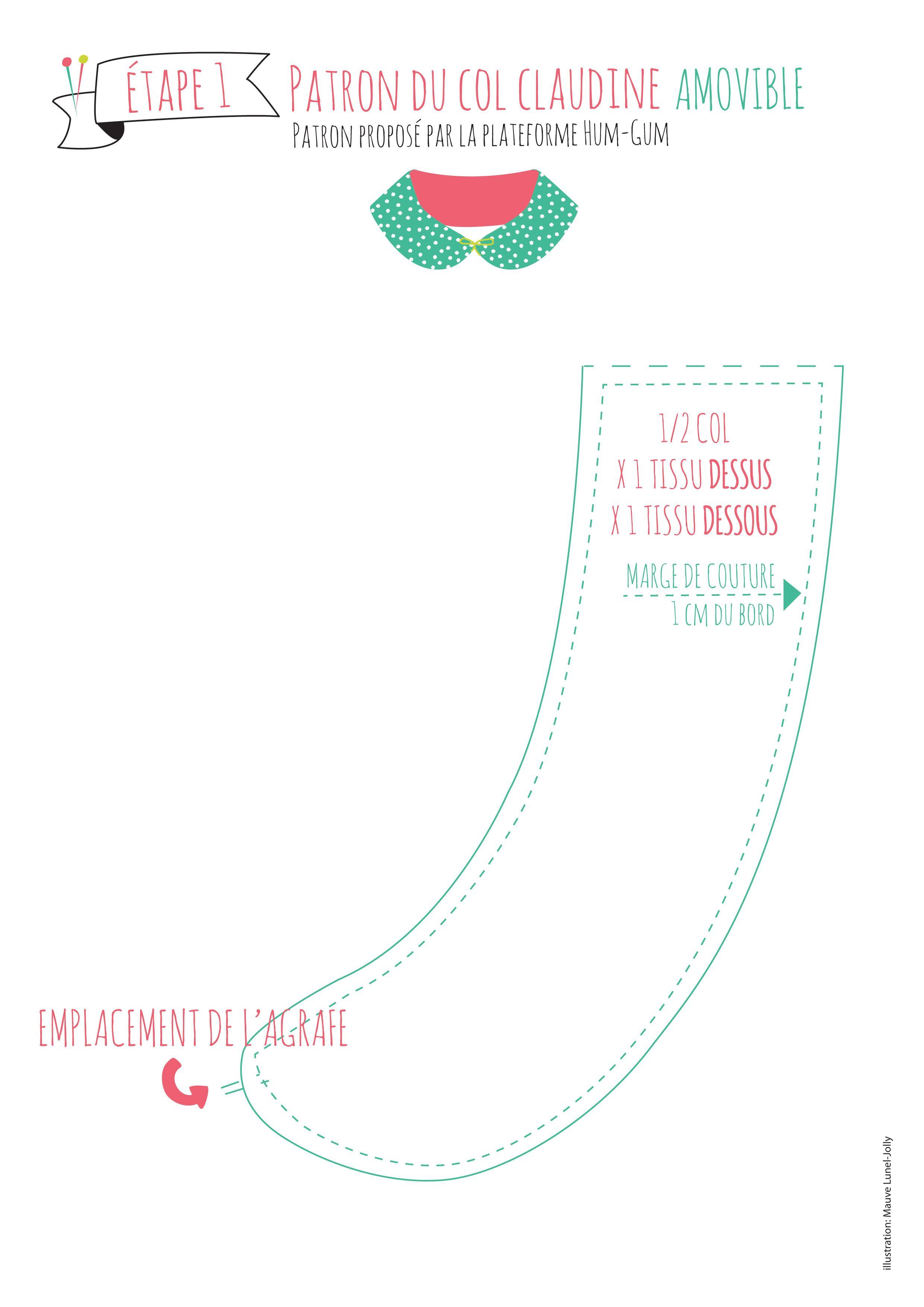 Pin de Martine LhID75513051 en col | Pinterest | Couture, Costura y ...