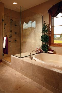 Photo of Master Bathroom Shower Design Ideas, Pictures, Remodel, and Decor – page 6