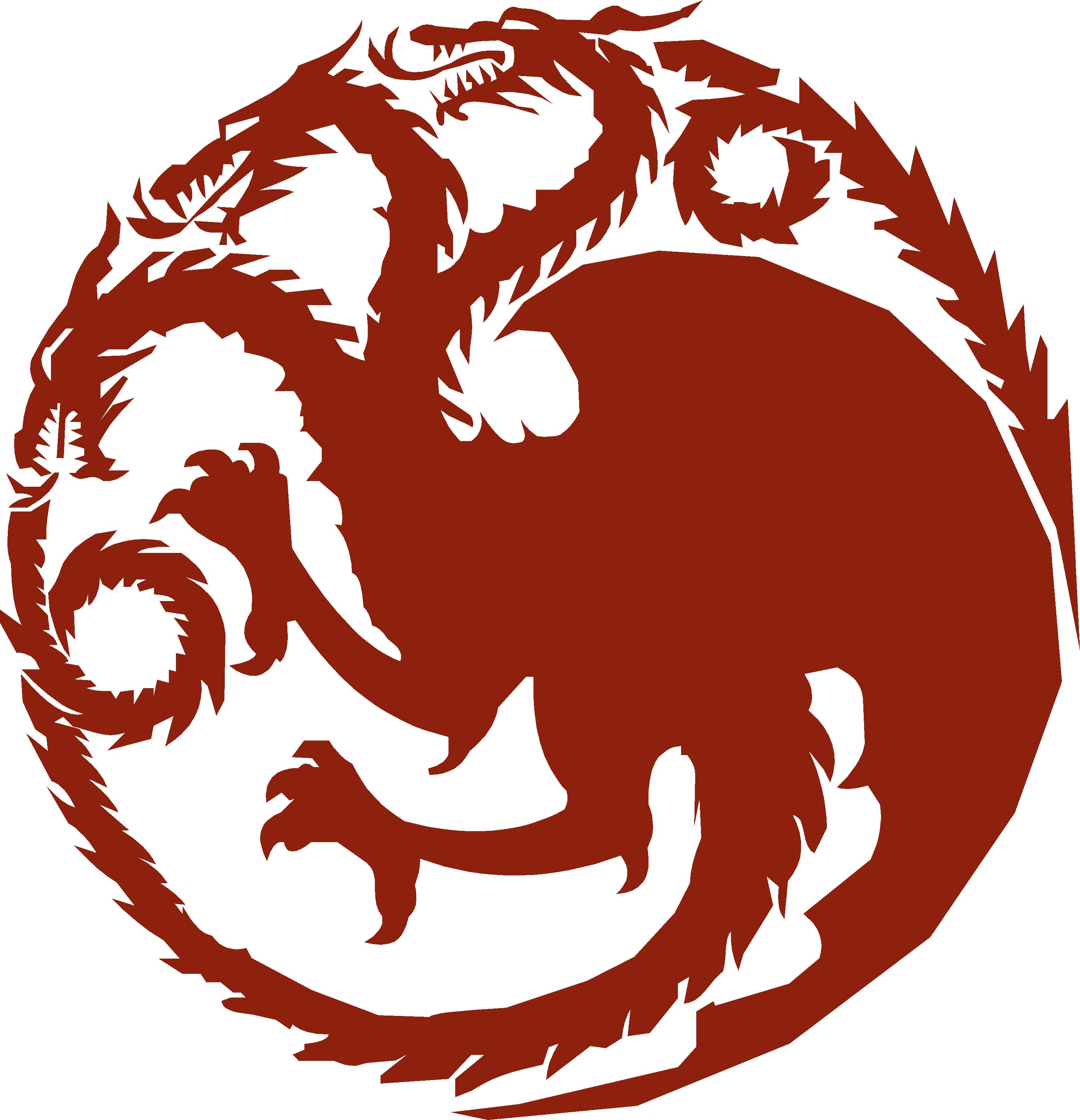 Snque77 Png 3051 3164 Targaryen Sigil Targaryen Tattoo Sigil