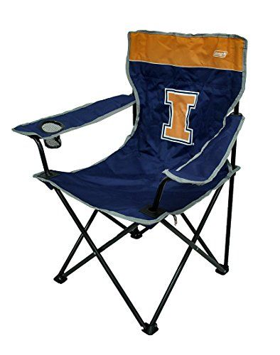 Introducing Illinois Fighting Illini Folding Quad Chair Great Product And Follow Us For More Updates Illinois Fighting Illini Camping Chairs Camping Furniture
