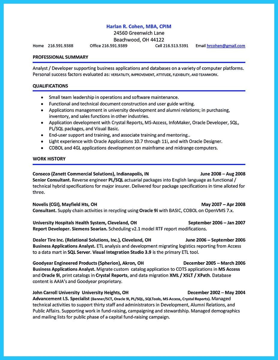 cool Awesome Account Receivable Resume to Get Employer Impressed ...