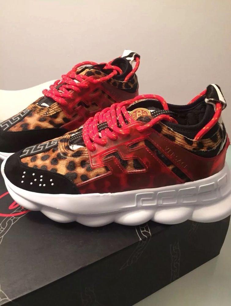 c7c7a54ec8f Versace Colorblock Chain Reaction X 2 Chainz leopard And ocean bundle Pair   fashion  clothing