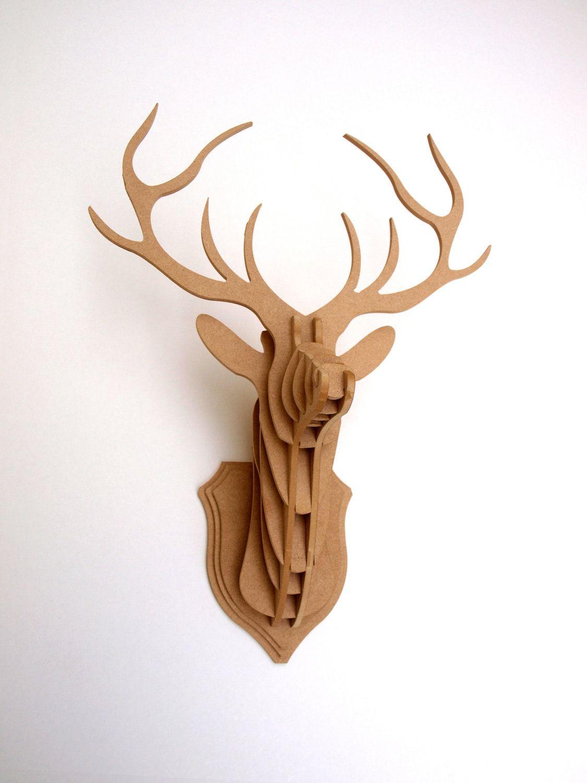 Deer Head Stag Trophy Medium