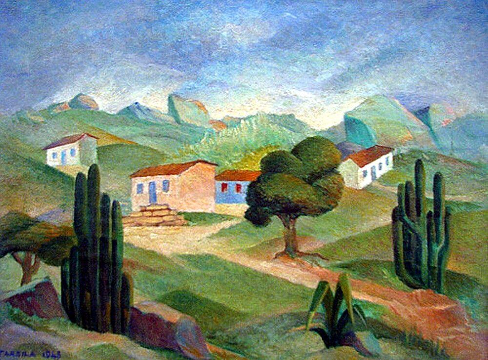 Paisagem 1948 Tarsila Do Amaral With Images Latin American Art