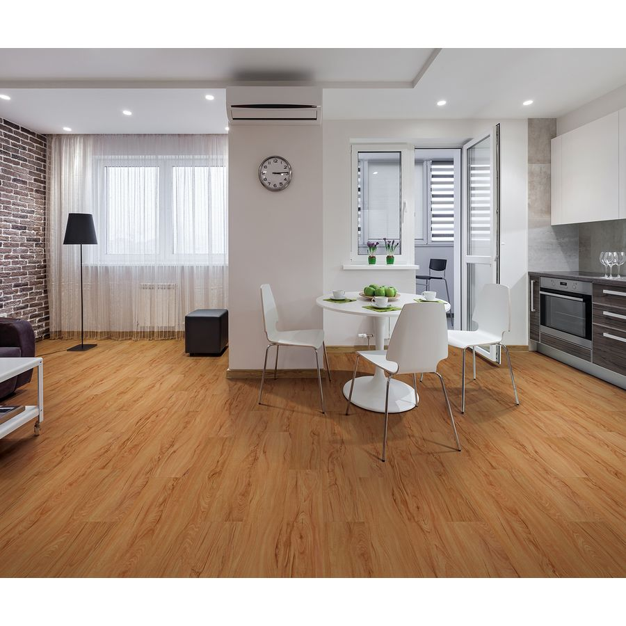 Smartcore Brunswick Maple Wood Laminate Flooring Small