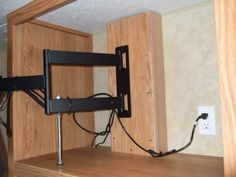 Rv Tv Mount Installation Ideas And Resource Examples And Information Rv Tv Mount Rv Tv Mounted Tv