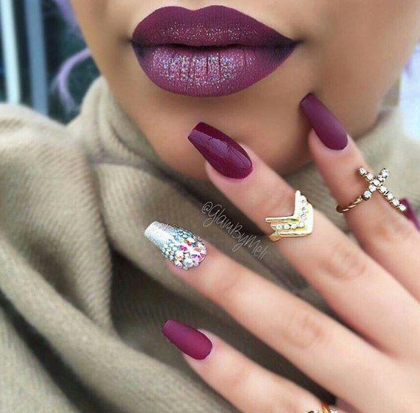 Amazing Makeup Nail Polish And Fashion Adornment - Nail Art Design ...