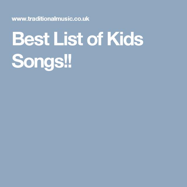 Best List Of Kids Songs Ukulele Pinterest Songs