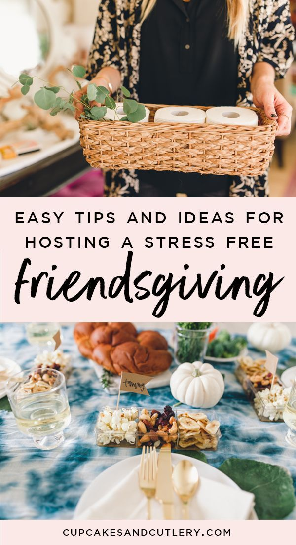 Easy Stress Free Friendsgiving Ideas for a Pinterest Worthy Party #friendsgivingfood
