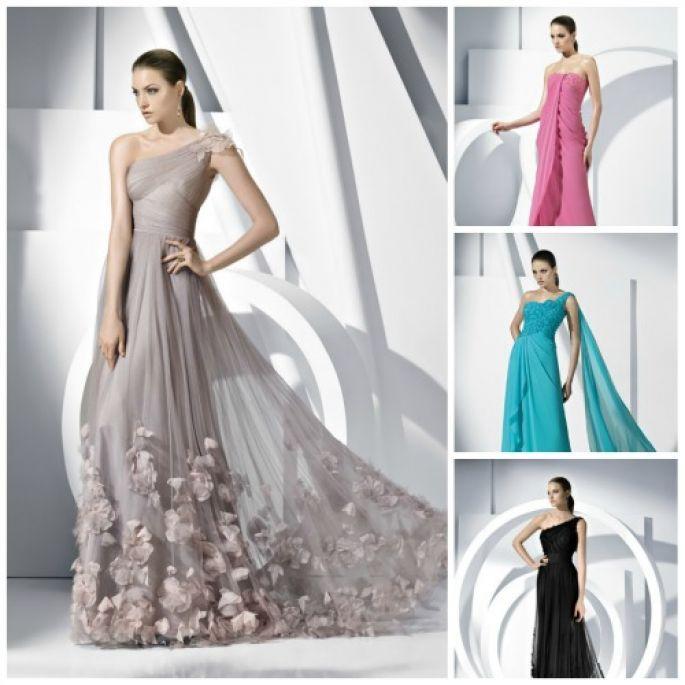 Vestidos de boda noche para invitadas 2013