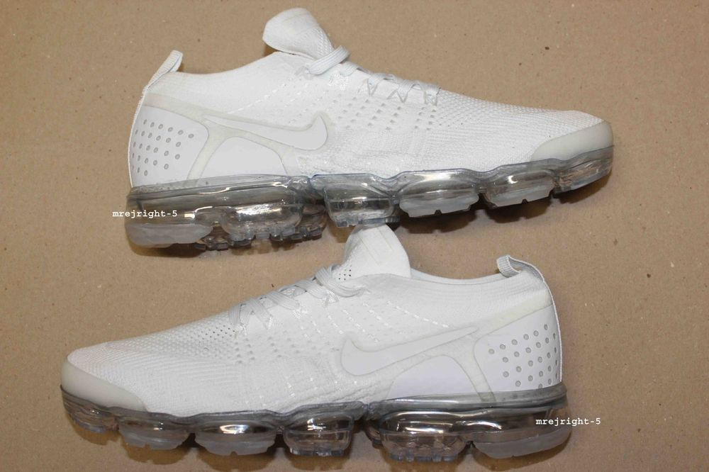 5ba8b485f4d Men s Nike Air VaporMax Flyknit 2 V2 Size 11 White Vapor Max Airmax   fashion  clothing  shoes  accessories  mensshoes  athleticshoes (ebay link)