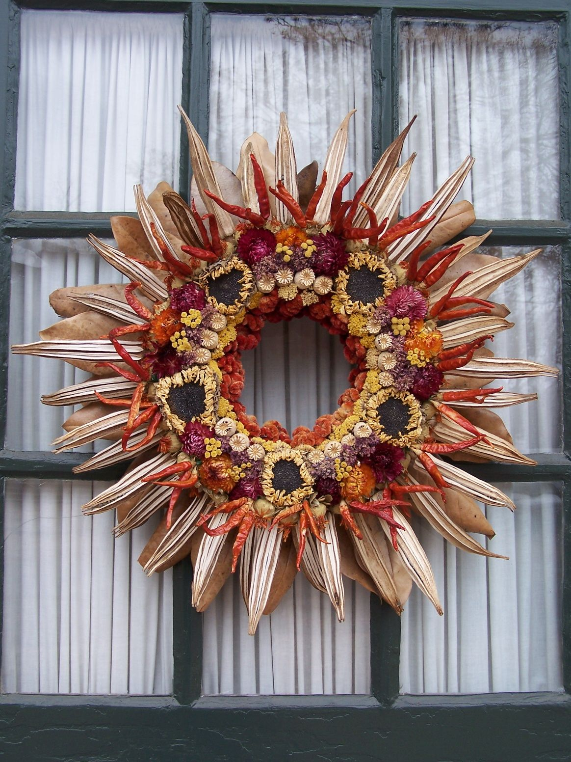 Williamsburg Wreath Wreaths, Fall wreath, Diy crafts