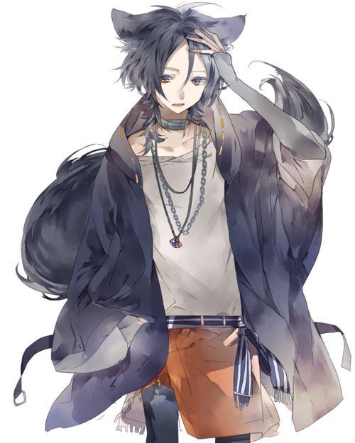 Imagen De Wolf And Anime Boy Anime Wolf Anime Guys Anime Characters