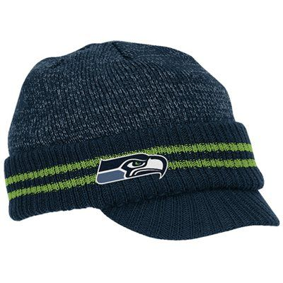 417b5af42c0dc4 ... adjustable a3a78 9d429 get reebok seattle seahawks navy blue second  season player visor knit beanie cute hat cb69c 80564 ...
