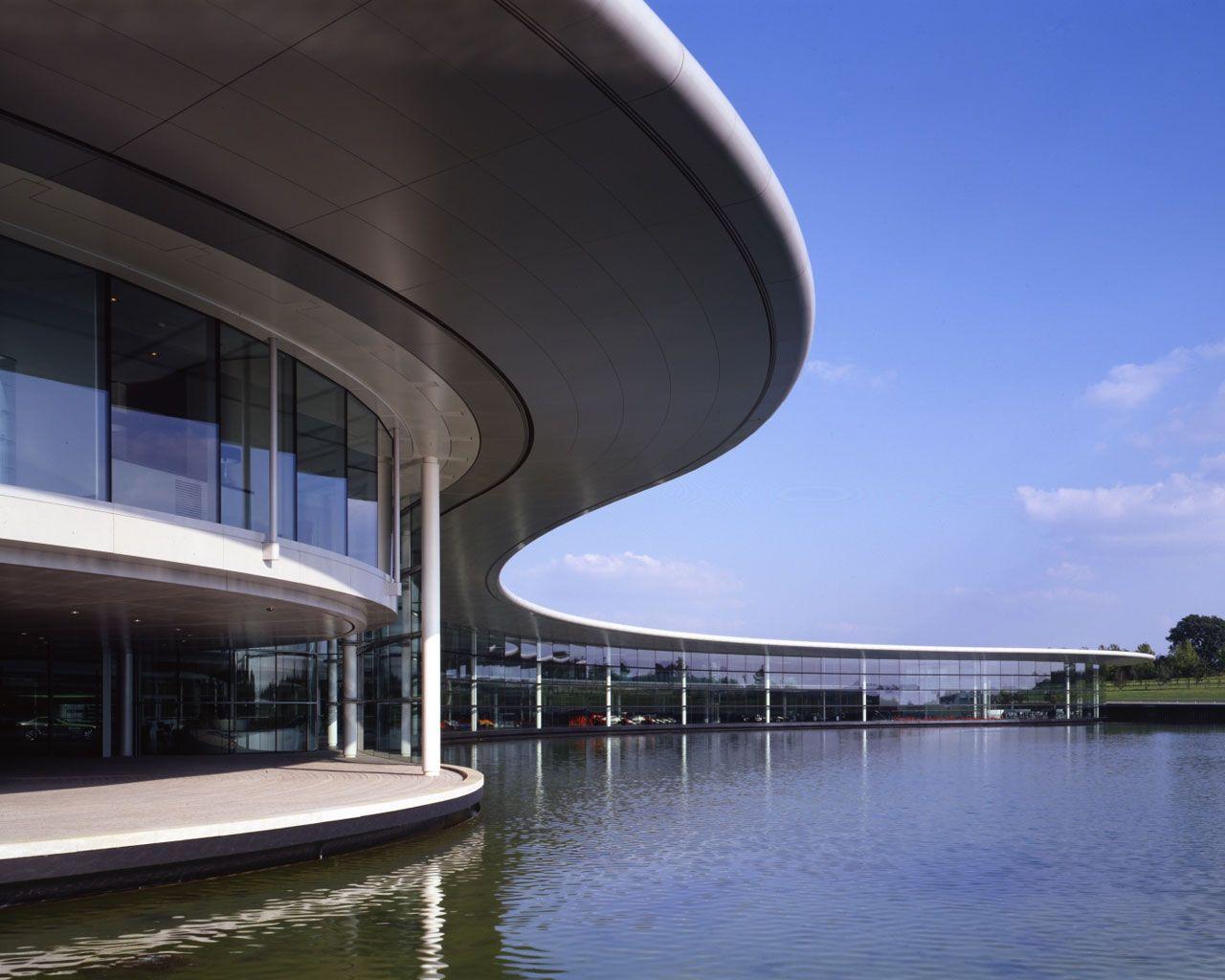 McLaren Technology Centre Woking #Foster #Norman Pinned by www.modlar.com