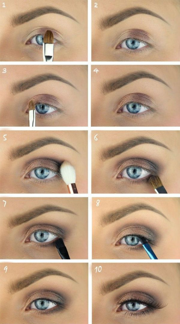 Photo of Gradually make up from scratch, Illustrated make-up lessons