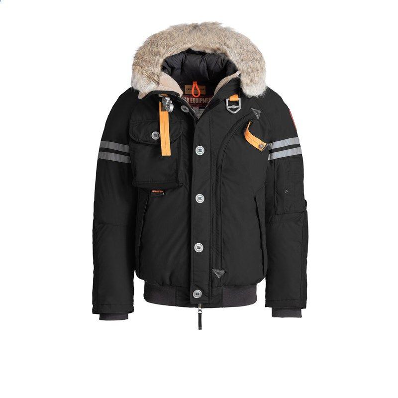 Men Parajumpers Black Polar Equipment Tribe Jacket