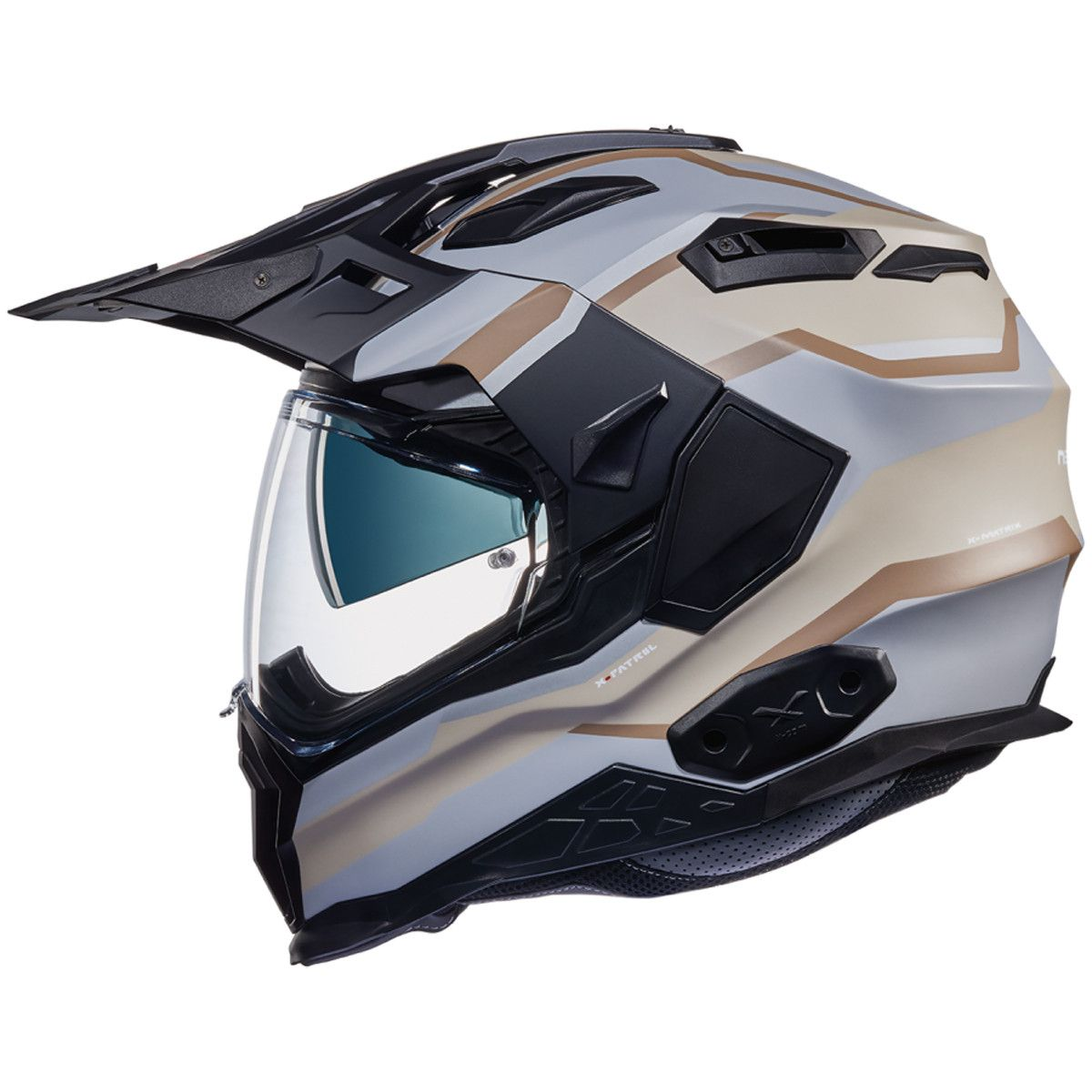 Nexx X.WED 2 XPatrol Helmet in Stone/Matt Grey The all