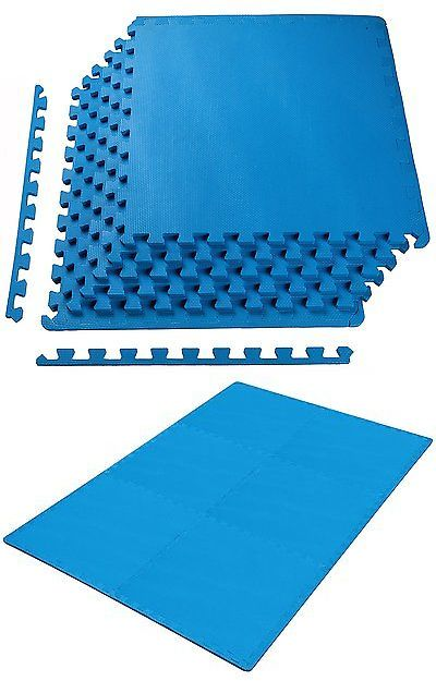 Exercise Mats 44079 New Puzzle Mat Workout Gym Fitness Floor