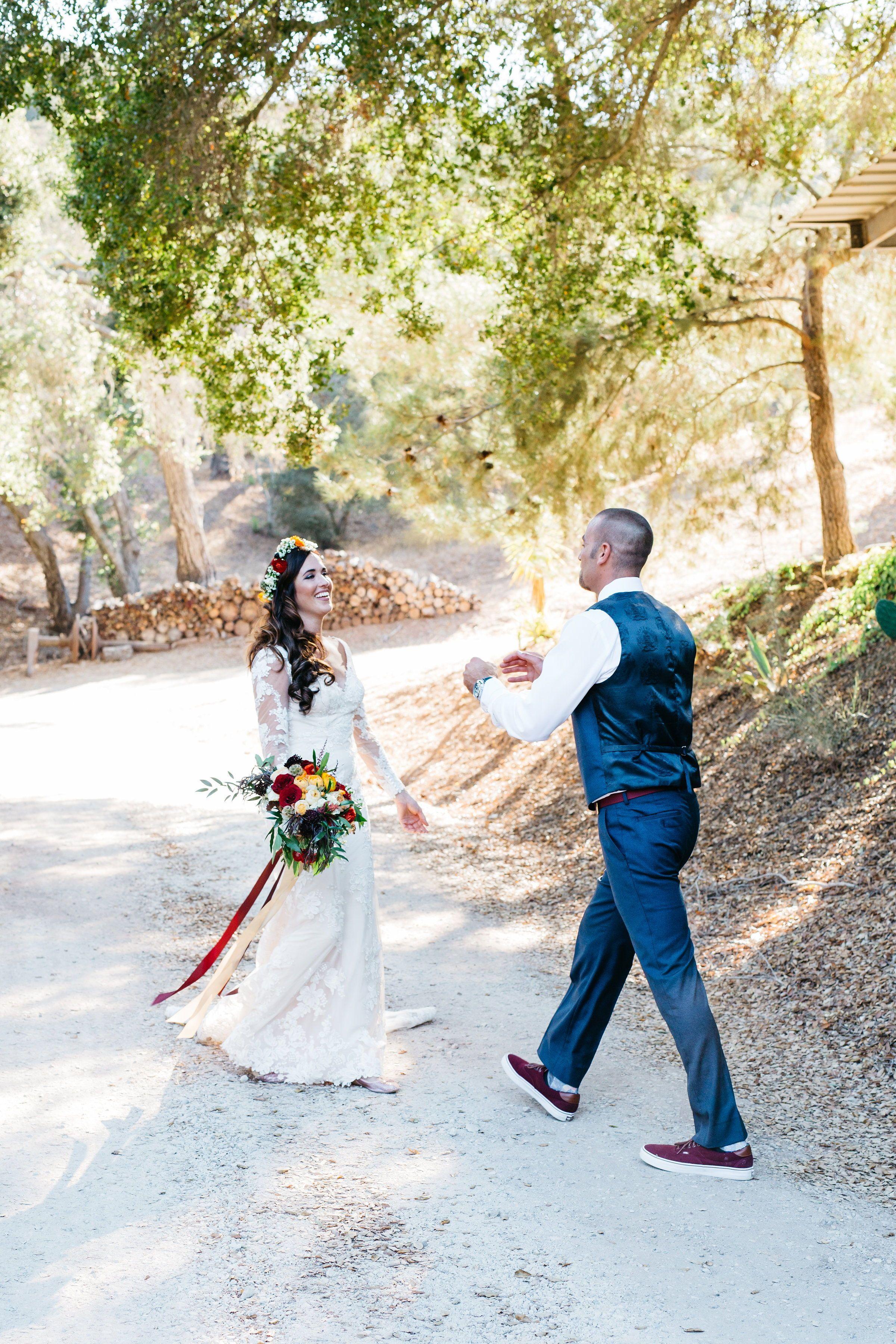 Wedding decorations purple october 2018 Rachel u Mike in   Rachel u Mike An Epic Fall Wedding in Ojai