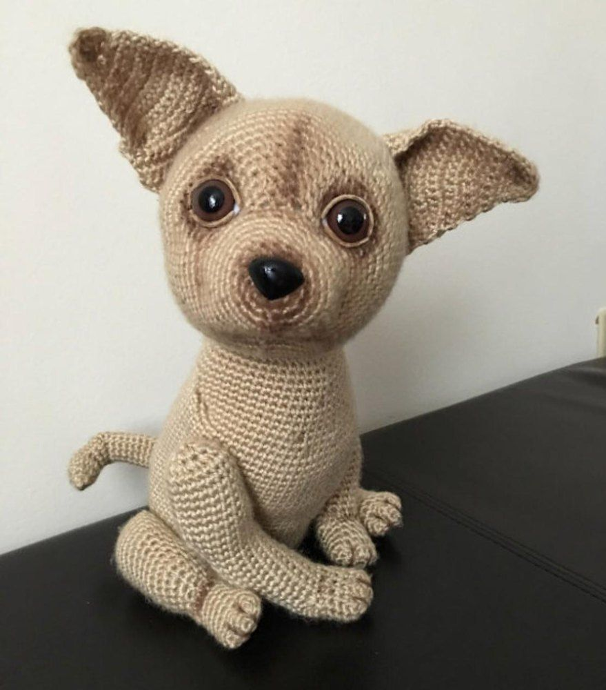 Chihuahua Dog In Sweater Crochet Toy Amigurumi Pinterest
