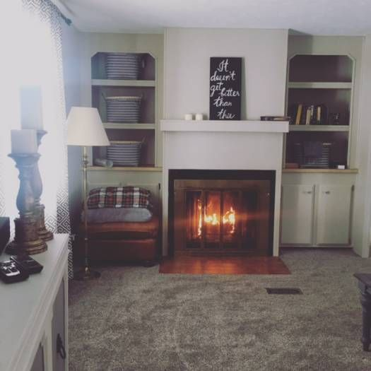 1979 single wide remodel living room after remodel - Remodeling Living Room