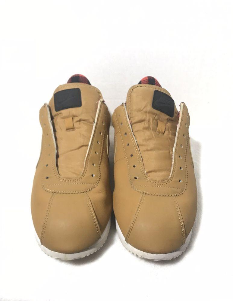 check out 587e9 114d1 Details about Nike Cortez Basic Premium 844791-700 Wheat LT ...