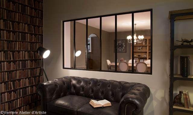 r cup rer de la lumi re dans une pi ce aveugle renovation verrieres interieure verriere. Black Bedroom Furniture Sets. Home Design Ideas