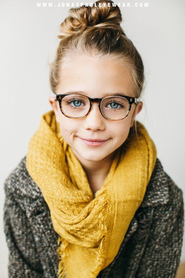 piger med briller