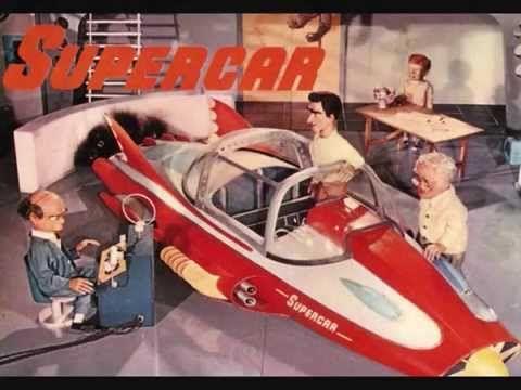 Gerry Anderson S Supercar Supercar Song Supercar Twist 1962 45rpm Super Cars Album Covers The Originals Tv