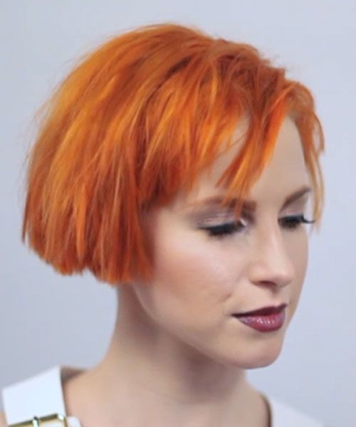 Hayley Williams Short Haircut Interviewed By Mtv Backstage At Itunes Festival On