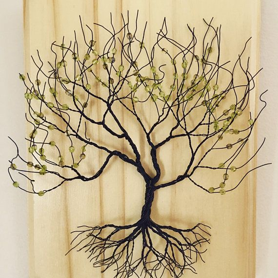 Wire Tree Art Sculptures you can Hang on the Wall Rustic Art Hanging ...
