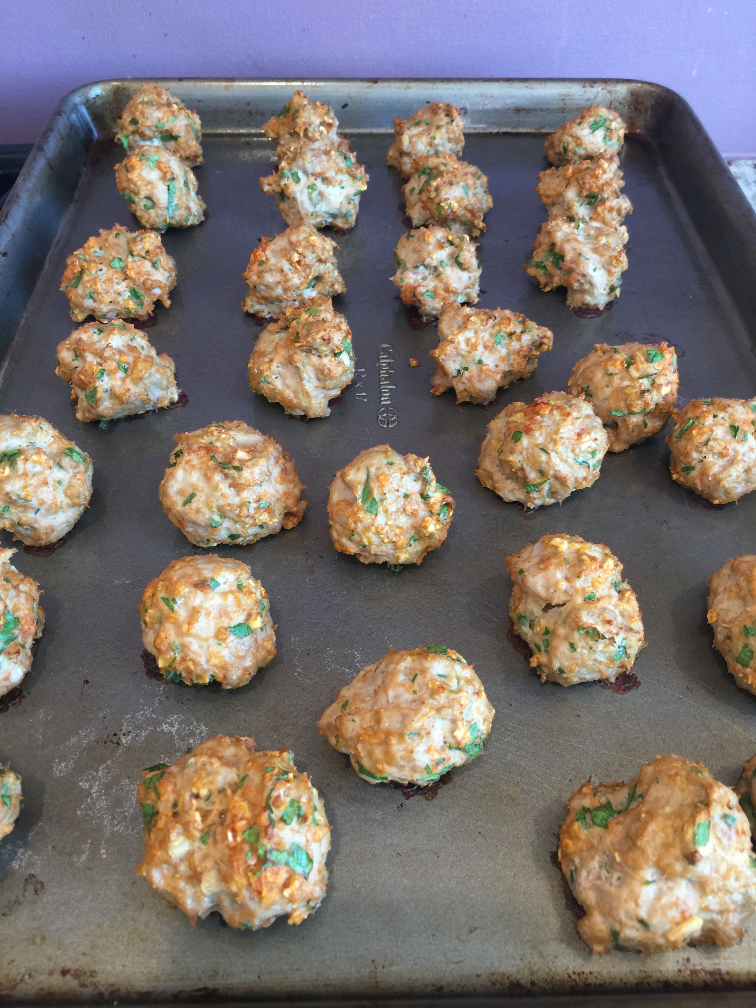 """Thank goodness I made two batches of these right away because….O-M-Gee these are so good! My 6 year old son, after one bite says, """"Mom, these are like chicken nuggets!"""" Enough sai…"""