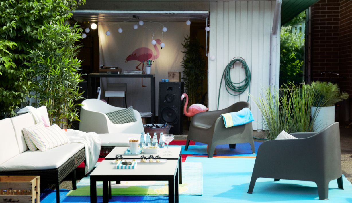 Sessel Skarpö Make A Laid Back Party Ready Living Room In Your Outdoor Space