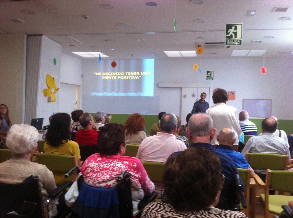 jornadas de charlas sobre alimentación y psicología positiva. Muy interesantes y enriquecedoras. ¡GRACIAS!