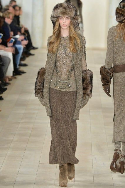 New York Fashion Week, Ralph Lauren Otoño Invierno 2015