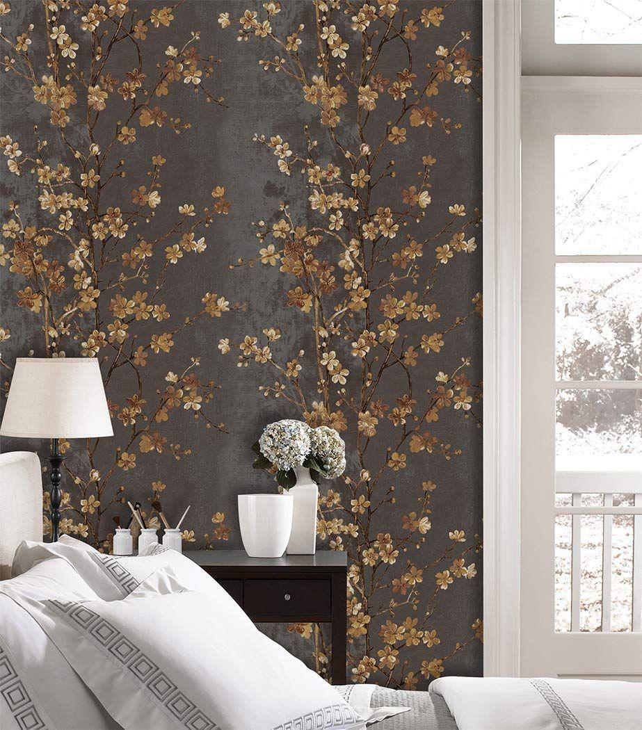 Vintage Floral Wallpaper Vintage Floral Wallpapers Wallpaper Textured Floral Wallpaper Flower bedroom wallpaper images