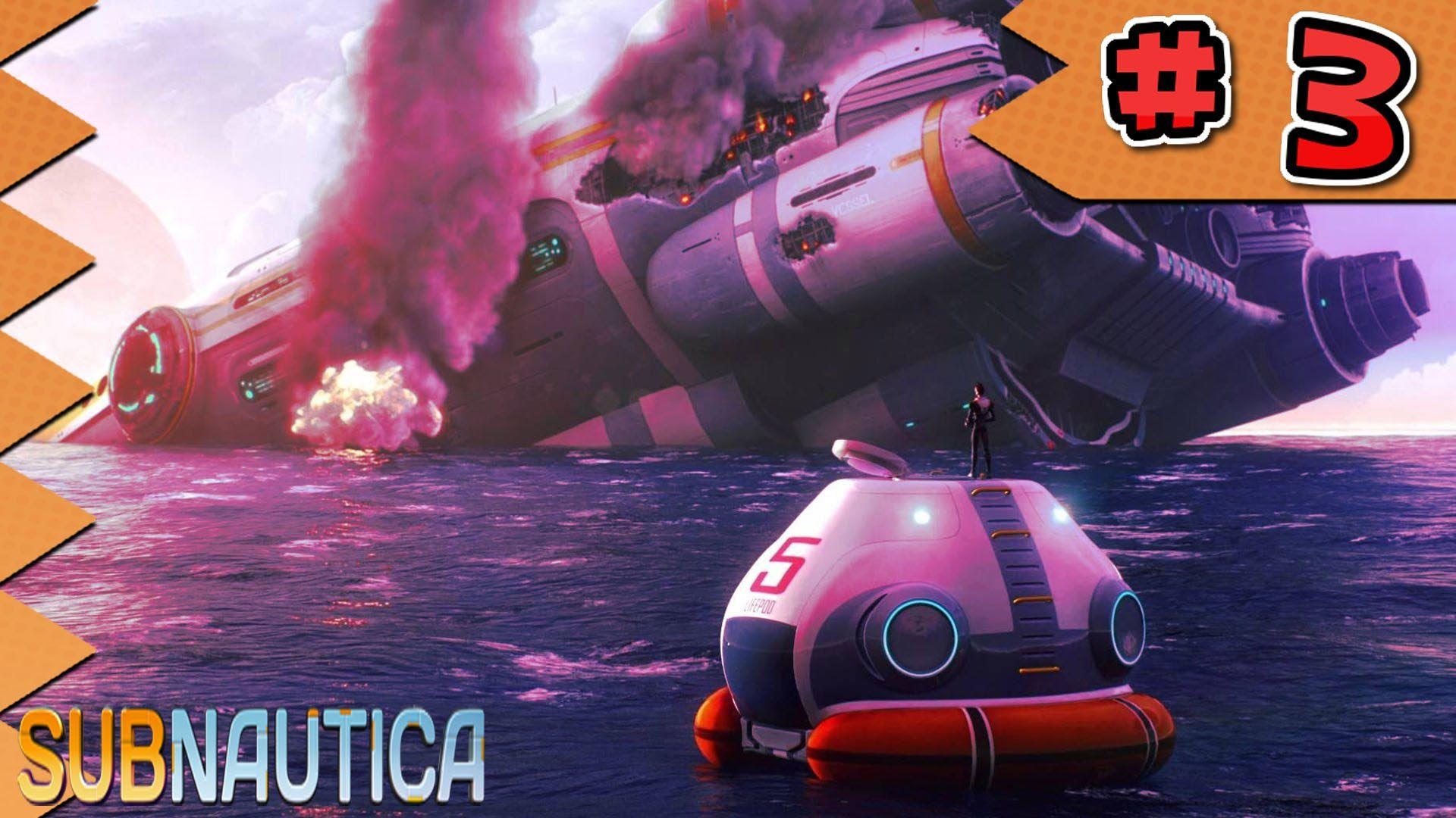 Subnautica Let's Play Ep 3: So many storage cubes - MyDiamondSkeleton!