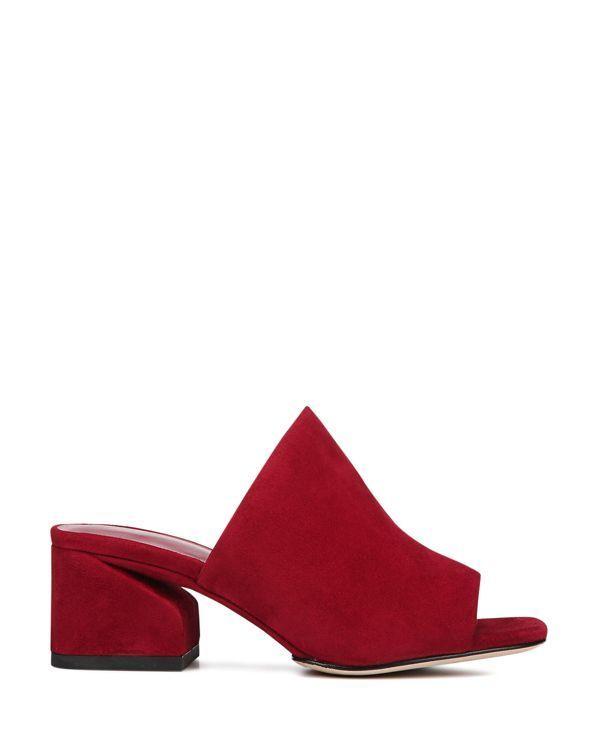 4227e9523907 Via Spiga Women s Porter Block Heel Slide Sandals