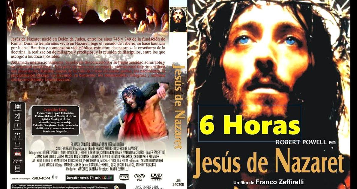 Jesus De Nazareth 6 Horas Peliculapleta Jesus Movie Posters Cinema
