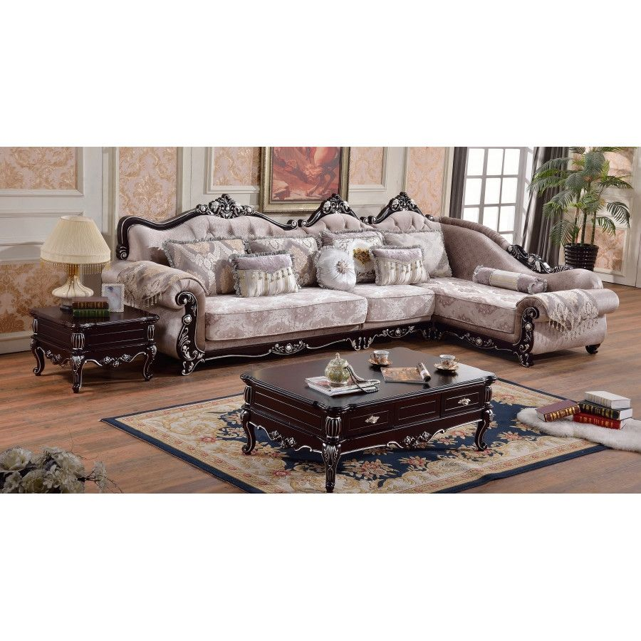 Meridian Furniture USA Valentino Sectional
