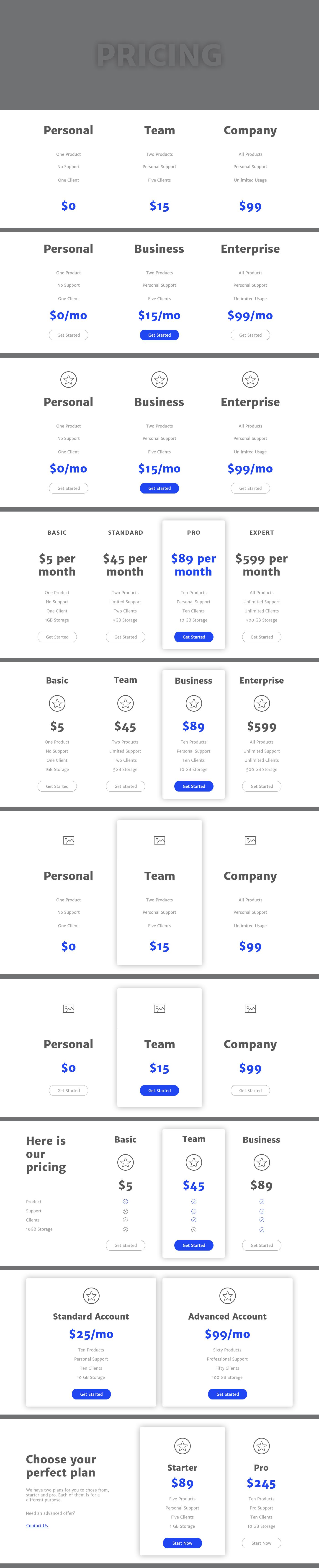 Wirey Wireframe Kit    #ux #wireframe #website #webdesign #uxdesign #websitetemplate