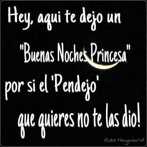 Buenas Noches Buenas Noches Princesa Buenas Noches Noche