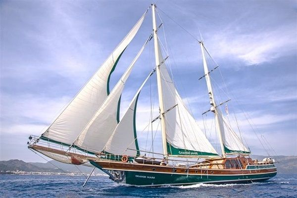 Gulet Grande Mare Gulet Yacht Cruise In Greece Sailing Croatia Liveaboard Sailboat Yacht Cruises
