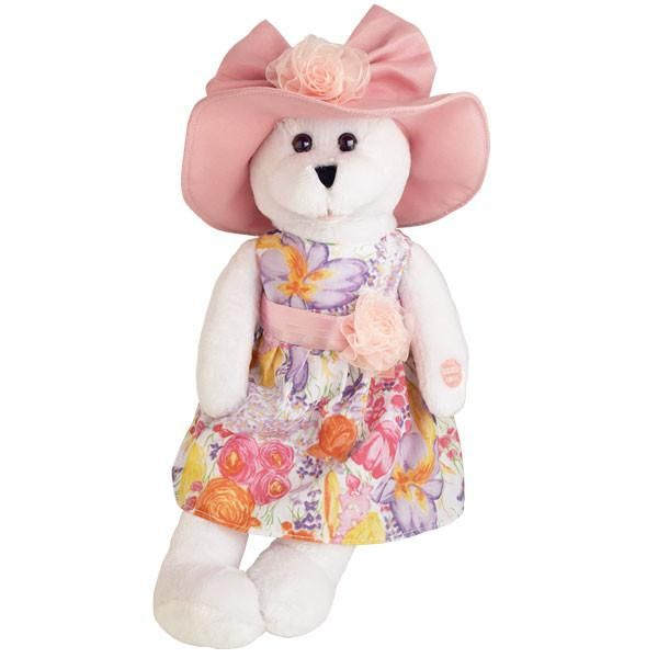 "Chantilly Lane Doris Bear Sings /""Que Sera Sera/"" 17/"" Plush"