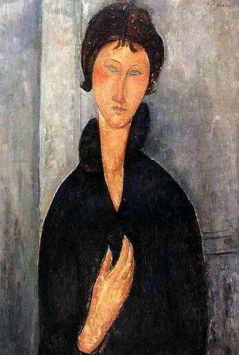 Amadeo Modigliani: woman with blue eyes