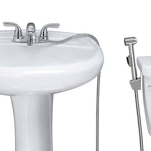 KES Warm Water Toilet Handheld Bidet Sprayer for Faucet with Brass ...